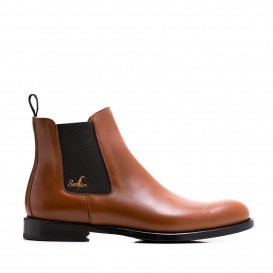 Serfan Chelsea Boot Men Special Cognac Black