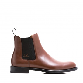 Serfan Chelsea Boot Women Special Brown Black