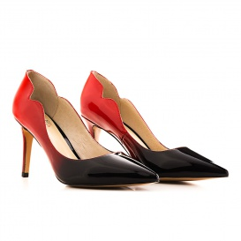 Serfan Pump women Black Red