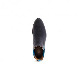Serfan Chelsea Boot Damen Wildleder Blau Blau