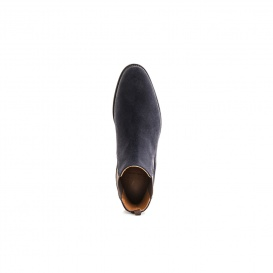 Serfan Chelsea Boot Men Suede Blue Grey