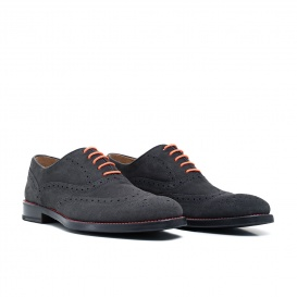 Serfan Oxford Men Oxford Grey Orange