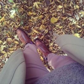 Serfan Chelsea Boot Women Calf leather Braun Purple