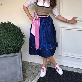 Serfan Sneaker Damen Glattleder Weiß Pink