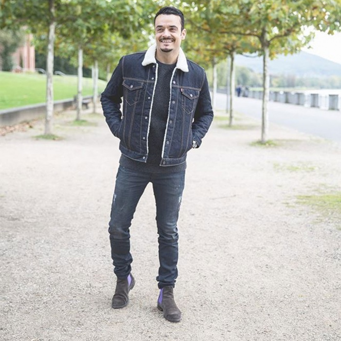 Gray Jeans With Brown Shoes