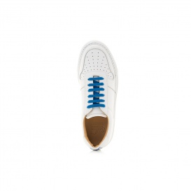 Serfan Sneaker Women Smooth Leather White Blue