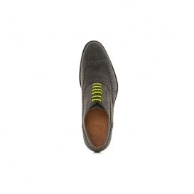 Serfan Chelsea Boot Men Suede Grey Yellow