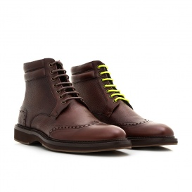 Serfan Ankle Boot Men Calf Leather Brown
