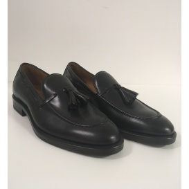 Serfan Loafer Women Calf Leather Black