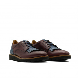 Serfan Sport Oxford Damen - Bordo Blau