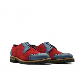 Limited Serfan Sport Oxford Women - Blue Red