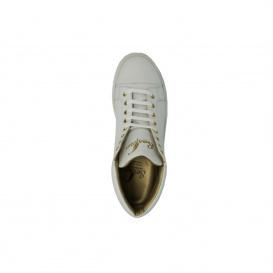 Serfan High Sneaker Herren Weiß Gold