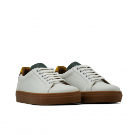 Sneaker Serfan Herren farbig weiß