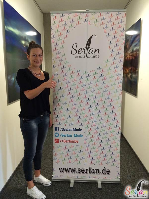 Die neue Praktikantin bei Serfan stellt sich ihren Lesern vor.