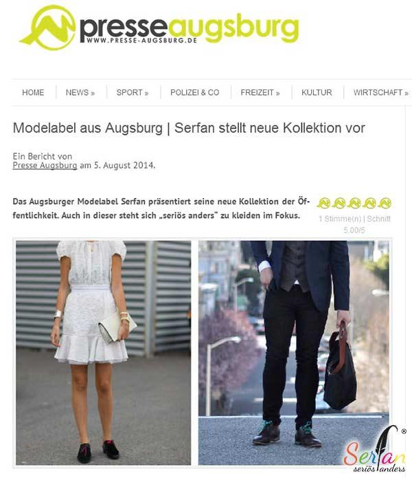 Augsburger Modelabel Serfan stellt neue Kollektion vor