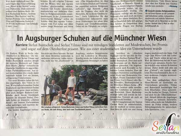 Augsburger Allgemeine berichtet über Serfan
