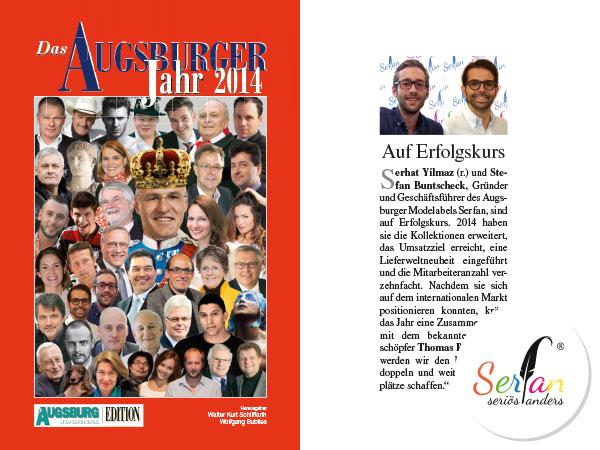 Serfan um Geschäftsführer Serhat Yilmaz im Augsburger Jahresbuch