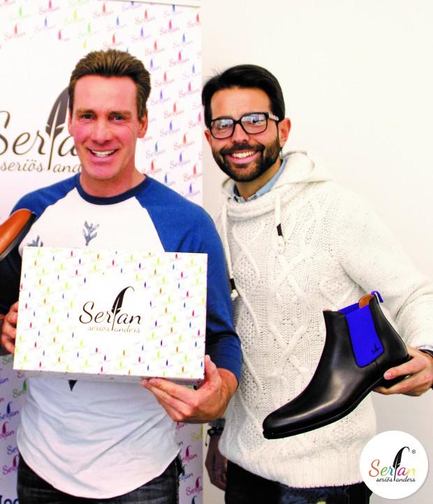 Jürgen Milski trägt Chelsea Boots von Serfan