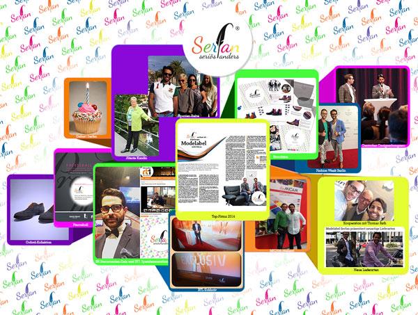 Augsburger Modelabel Serfan um Designer Serhat Yilmaz feiert einjähriges