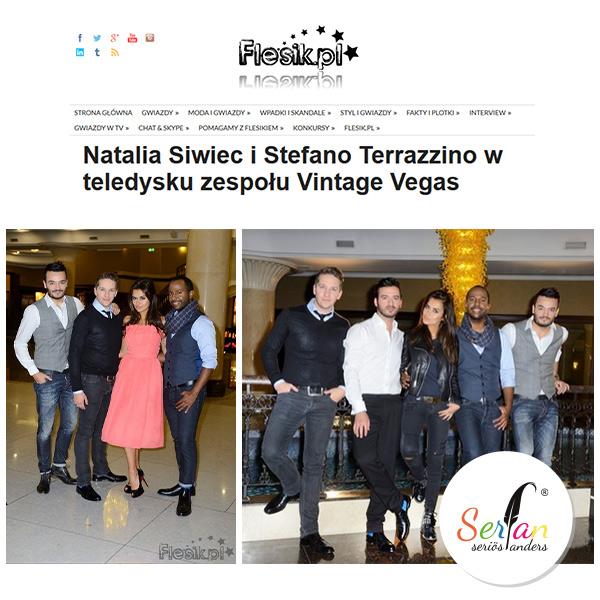 Vintage Vegas bringt Serfan Schuhe im Zuge eines Videodrehs nach Polen.
