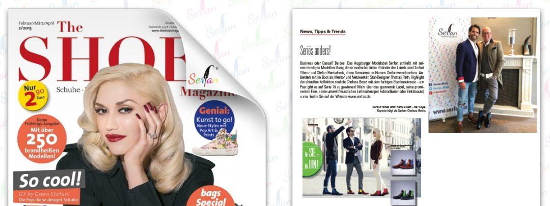 Das Magazin The Shoes berichtet über das Augsburger Modelabel Serfan um Designer Serhat Yilmaz.