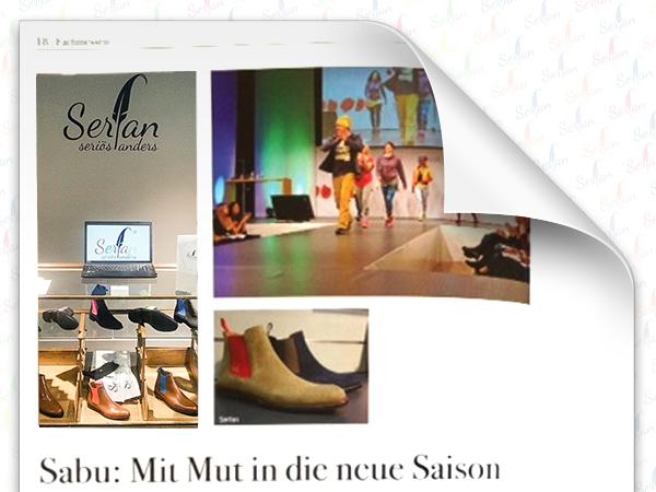 Der Schuhkurier informiert über das Augsburger Modelabel Serfan und Designer Serhat Yilmaz.