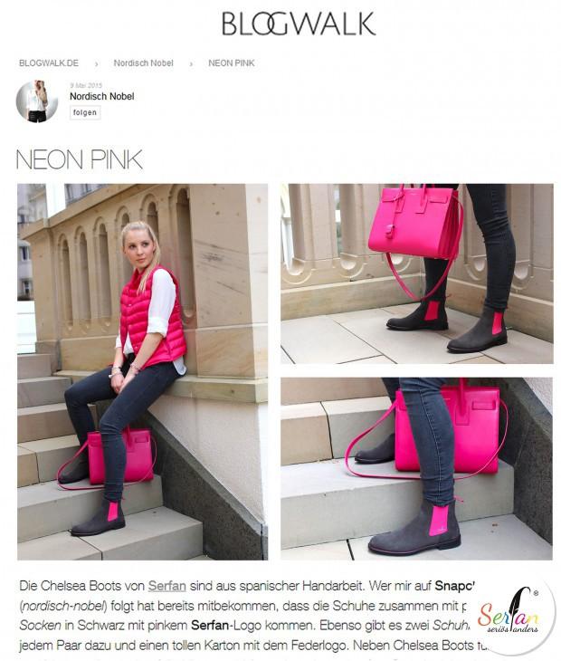 Bloggerin Gisa von Nordisch Nobel, trägt unsere Serfan Chelsea Boots