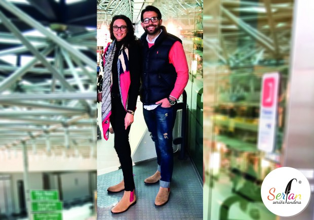 Lilly Becker trägt Serfan Chelsea Boots