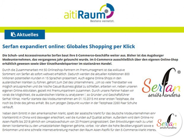 Die Online-Expansion von Serfan ist Thema im Blog vom IT-Wirtschaftsportal aitiRaum