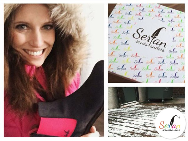 Mode des Labels Serfan trifft Susanne Schönes Geschmack