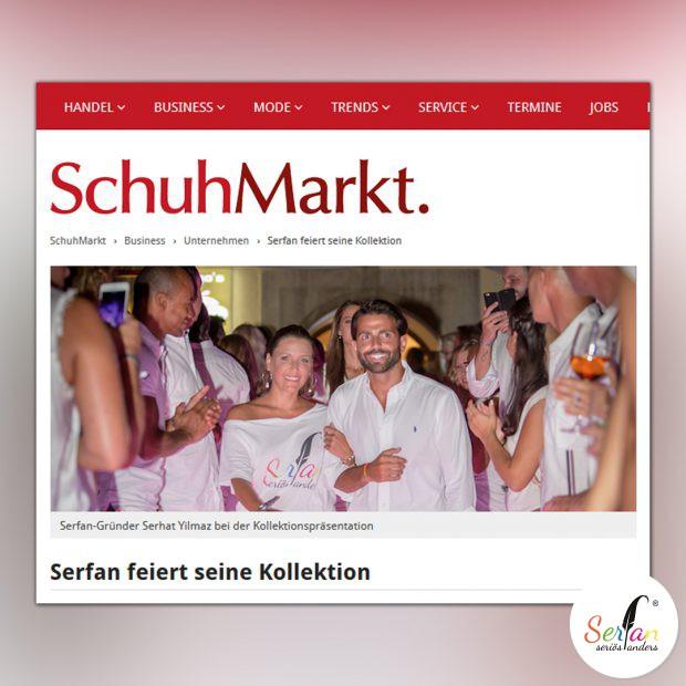 SchuhMarkt schreibt über die Serfan Fashion Show.