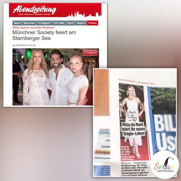 AZ München und Bild München veröffentlichen Artikel zur Fashionshow.