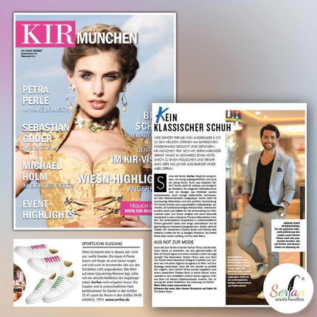 KIR München interviewte Geschäftsführer Serhat Yilmaz über Serfan.
