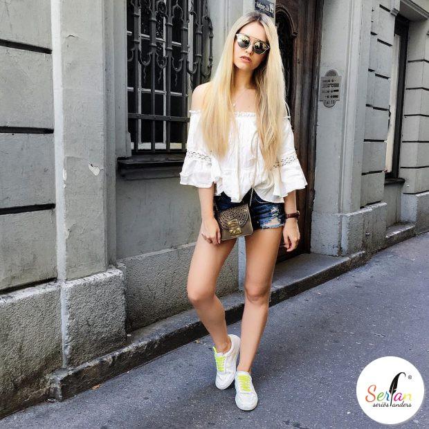 Münchner Bloggerin trägt Serfan Sneaker