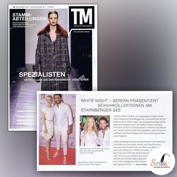 Serhat Yilmaz lud VIPs anlässlich der Serfan Fashion Show nach Starnberg