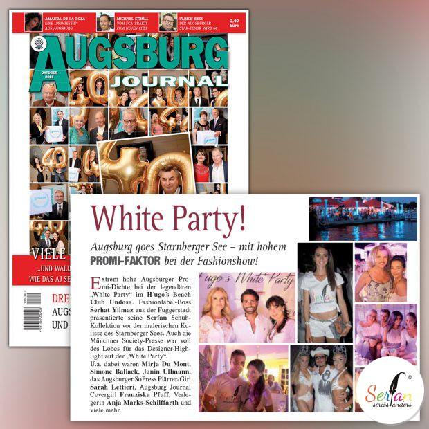 Augsburg Journal veröffentlicht Beitrag zu Serfan Fashion Show.