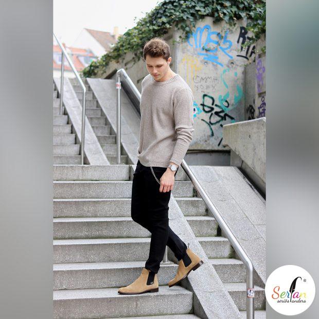 Blogger Konny trägt Serfan