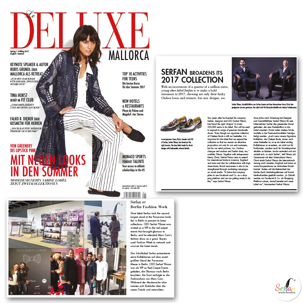 Deluxe Mallorca über Serfan Investment und Berlin Fashion Week
