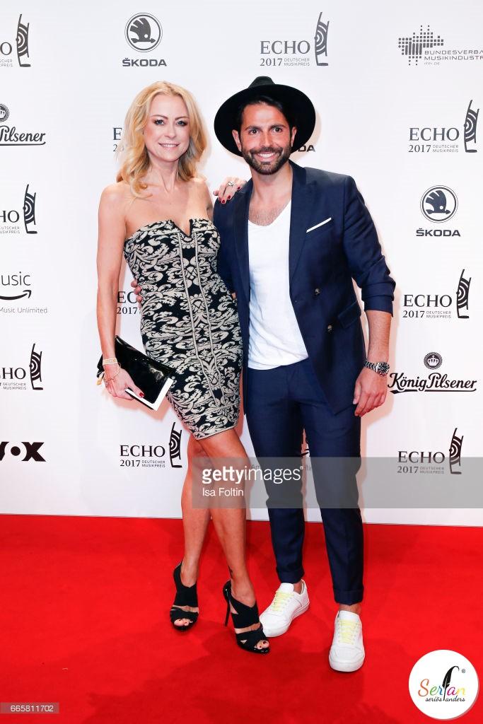 Serhat Yilmaz auf der ECHO Pop Verleihung 2017