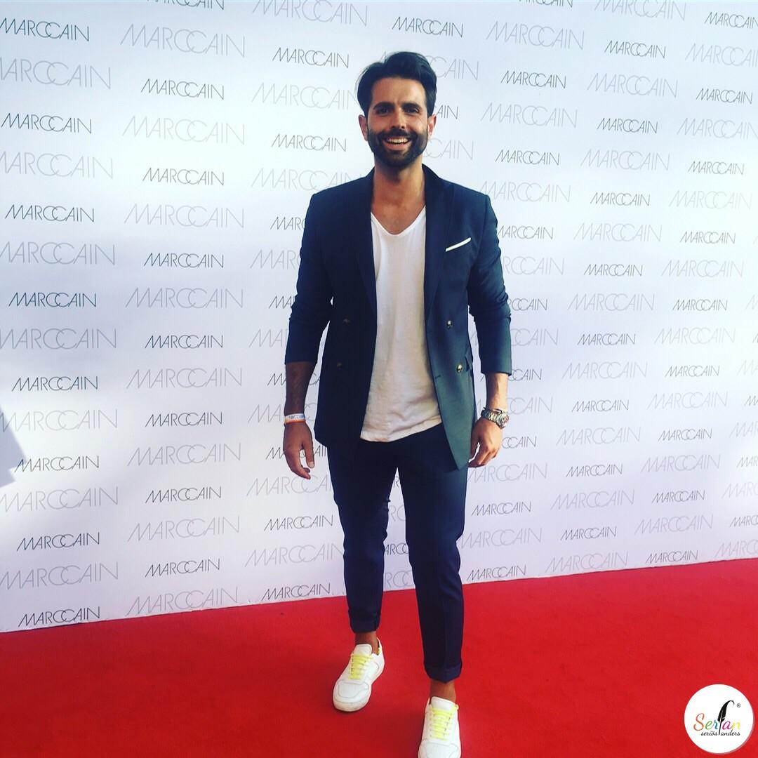 Serhat Yilmaz war auf der Berlin Fashion Week 2017 und vertrat dort das Schuhlabel Serfan.