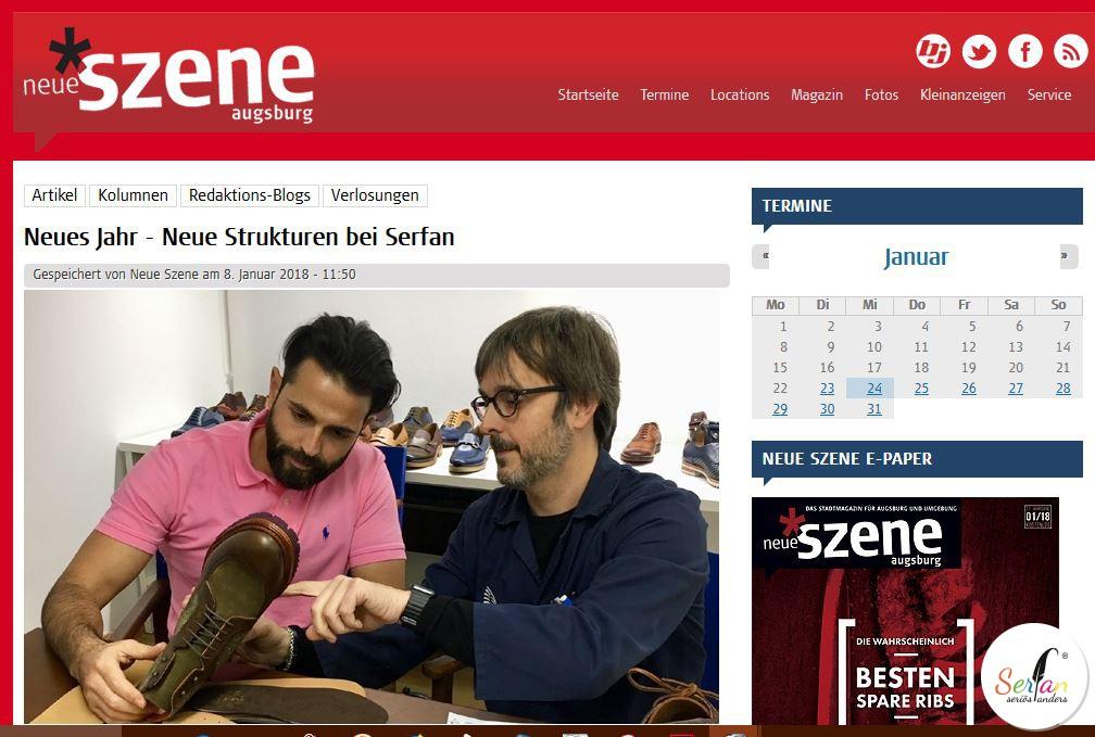 Serfan in Neue Szene, Neue Struktur