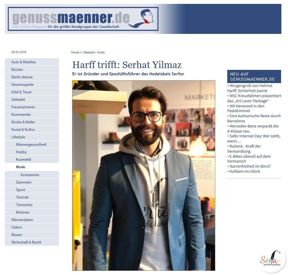 Serhat interview genussmaenner.de